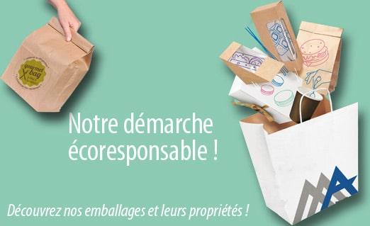 Des emballages éco-responsables, c'est possible !