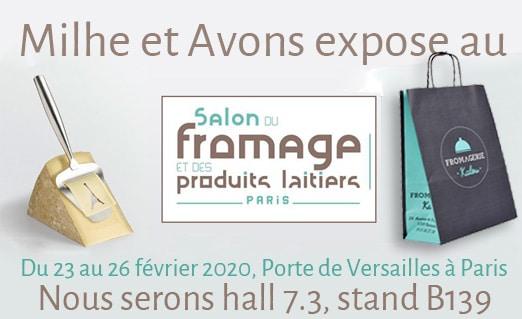 Milhe et Avons expose au Salon du Fromage