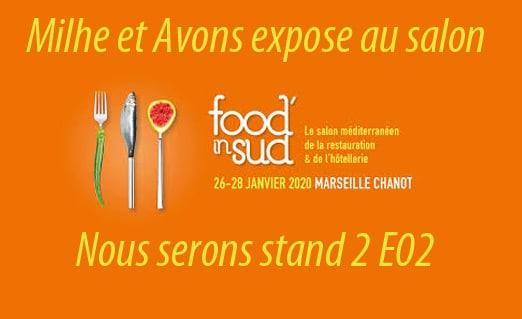 Milhe et Avons expose au salon Food In Sud 2020
